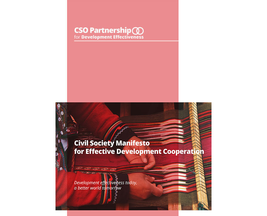 Civil Society Manifesto for Effective Development Cooperation