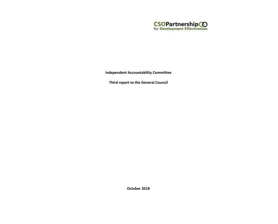 IAC Report 2018